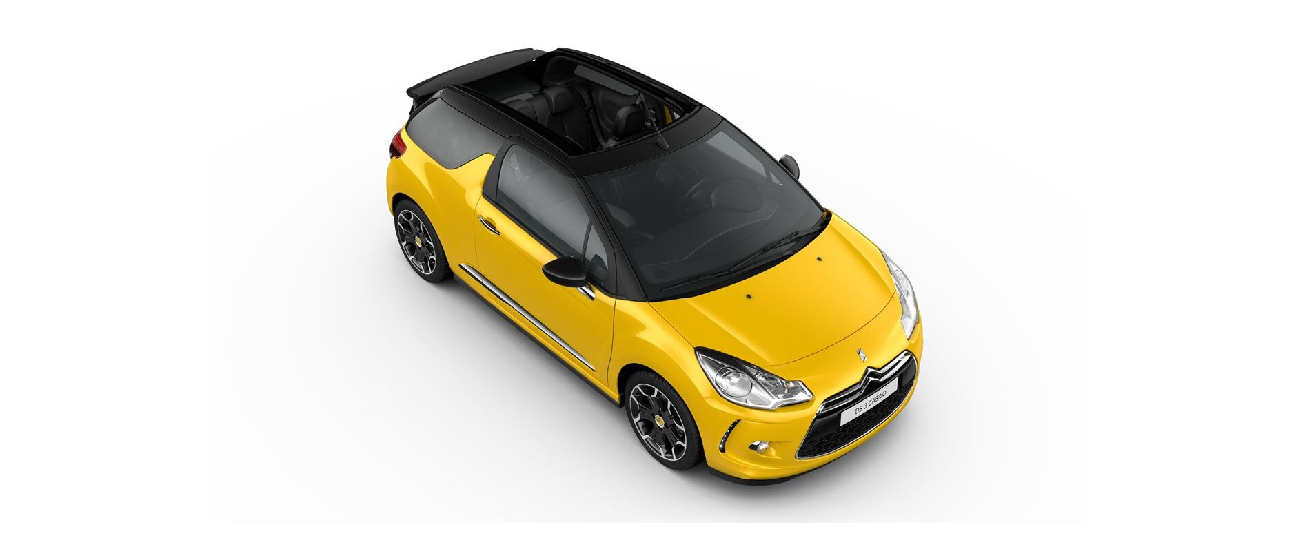 DS 3 Cabrio - Sport Yellow