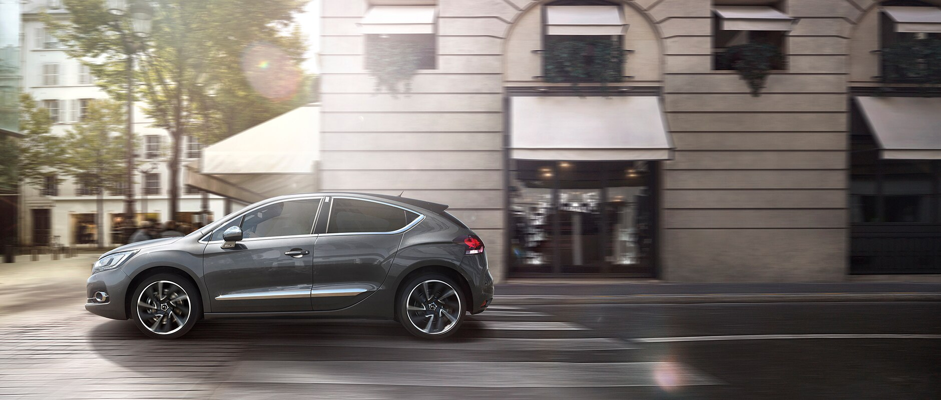 New DS 4 - détails - Technology for safety
